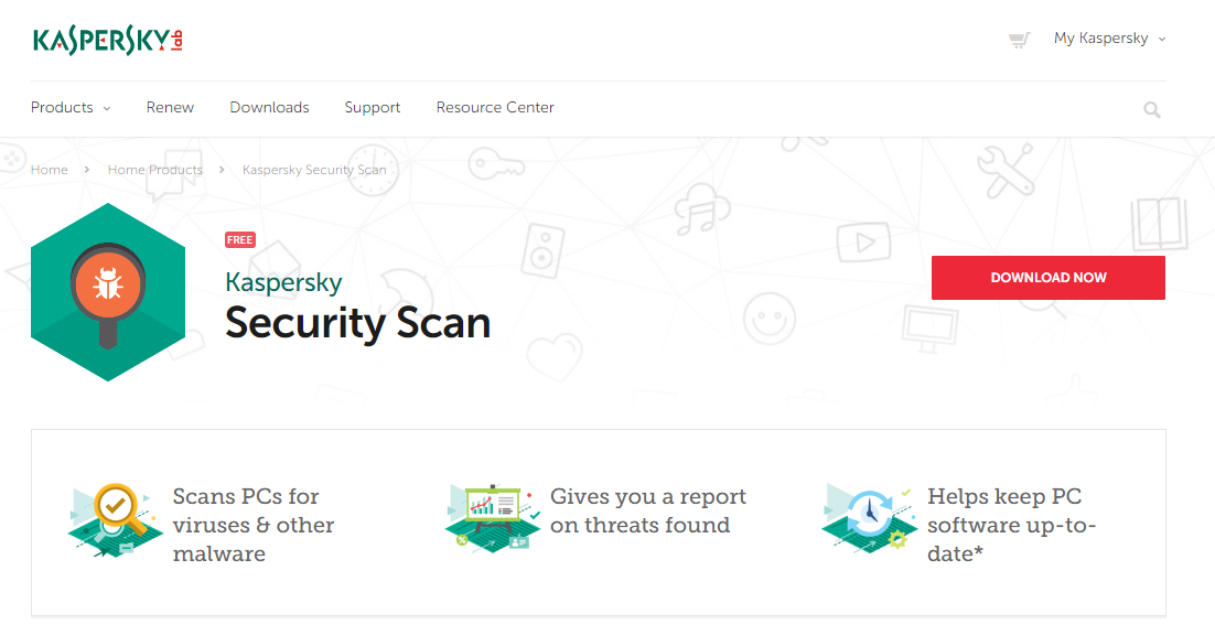 Kaspersky Security Scan