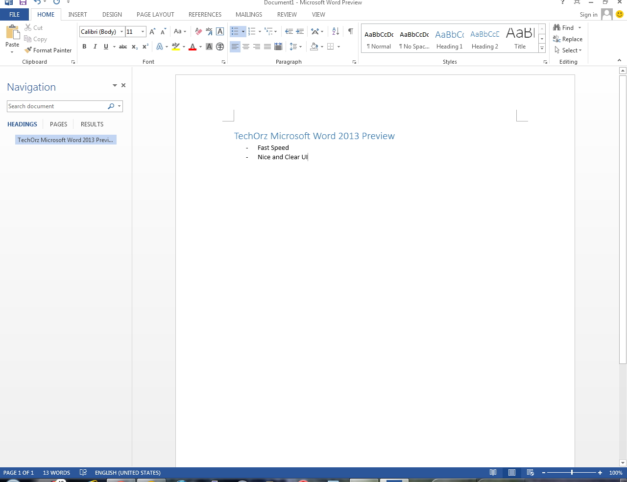 Microsoft Office 2013 - Word