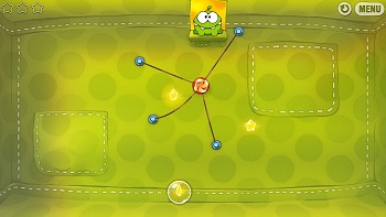Cut the Rope vzhled hry