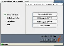 Complete CD/DVD Writer