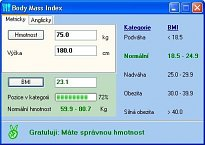 Sodev Body Mass Index
