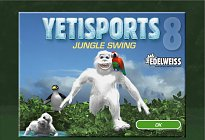 Yeti sports 8 Jungle Swing