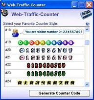 Web Traffic Counter