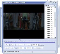 DVD to VCD, AVI, DivX Converter
