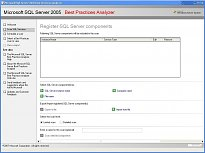 SQL Server 2005 Best Practices Analyzer