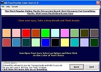 MB Free Psychic Color Test