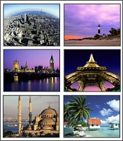 World Travel 5 Screensaver