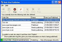 Web Site Publisher