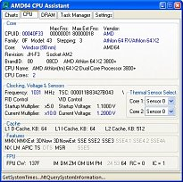 AMD64 CPU Assistant