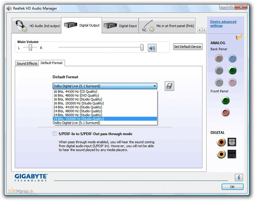 Realtek high definition hd audio driver free download for 10 40 window definition