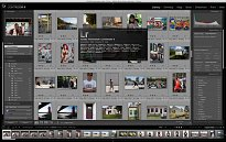 Lightroom interface