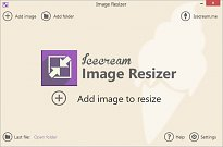 Icecream Image Resizer