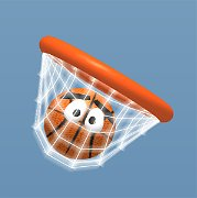 Ball Shot – Fling to Basket (mobilné)