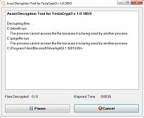 Avast Decryption Tool for TeslaCrypt